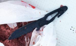 新兵器ステンレスナイフ